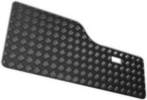 DISCOVERY 1 REAR DOOR CARD NO GRAB HANDLES BLACK 3MM (5 SEATER)