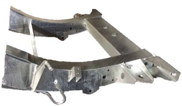 D2 REAR 1/4 CHASSIS GALVANISED