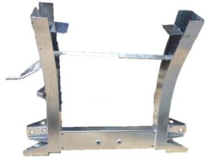 D2 REAR CHASSIS WITH 900MM EXTENTIONS GALVANISED