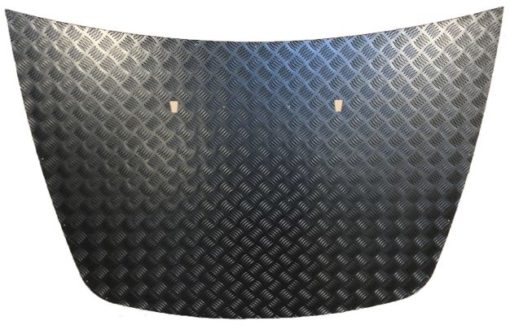 DISCOVERY 2 BONNET PROTECTOR BLACK - 3MM