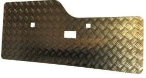 DISCO 2 REAR DOOR CARD BLACK 7 SEATER & COMMERCIAL ONLY