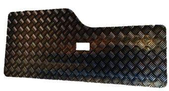 DISCOVERY 2 REAR DOOR CARD BLACK -3MM (SINGLE HOLE NO GRAB HANDLES)