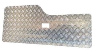 DISCOVERY 2 REAR DOOR CARD SATIN FINISH-3MM (SINGLE HOLE NO GRAB HANDLES)