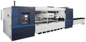 LVD Axel 3015 Bed size 3000 x 1500 Maximum cutting capacity 25mm steel 12mm aluminium 12mm stainless steel Includes Nitrogen Regeneration Plant