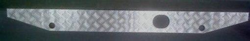TD5 TREADPLATE REAR CROSS MEMBER COVER BLACK 3MM