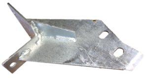 DEFENDER HI-CAP REAR BODY MOUNT O/S FRONT GALV