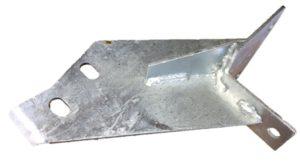 DEFENDER HI-CAP REAR BODY MOUNT N/S FRONT GALV