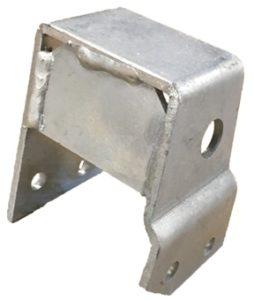 BRACKET STEERING DAMPER TO CHASSIS RHD GALV