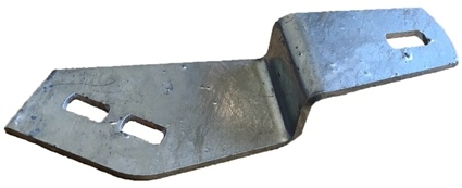 BULKHEAD TO CHASSIS BRACKET (N/S) GALV