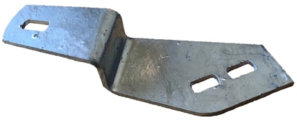BULKHEAD TO CHASSIS BRACKET (O/S) GALV
