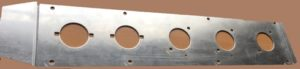 WOLF AMBULANCE REAR LAMPS MTG PLATE