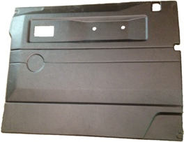 R/H FRONT DOOR CASE-PUSH BUTTON HANDLE-BLACK-DEF ELECTRIC WINDOWS
