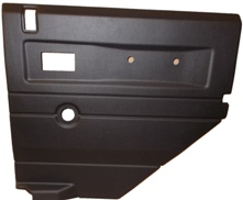 R/H 2ND ROW DOOR CASE-PUSH BUTTON HANDLE-BLACK