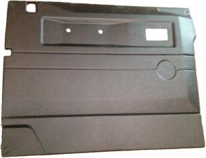 L/H FRONT DOOR CASE-PUSH BUTTON HANDLE-BLACK-DEF ELECTRIC WINDOWS