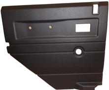 L/H 2ND ROW DOOR CASE-PUSH BUTTON HANDLE-BLACK