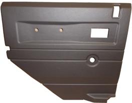 L/H 2ND ROW DOOR CASE-PUSH BUTTON HANDLE-GREY