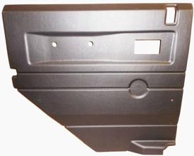 L/H 2ND ROW DEFENDER DOOR CASING GREY ELECTRIC WINDOWS