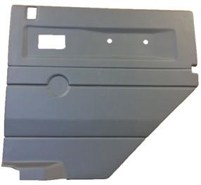L/H LIGHT GREY (LOY) 2ND ROW DOOR CASE - ELECTRIC WINDOW