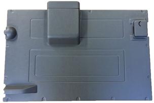 DEFENDER REAR DOOR CASE - DARK GREY (LCS)>84-2002
