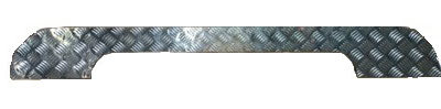 ROOF RECESS CHEQUER PLATE COVER 3MM SATIN