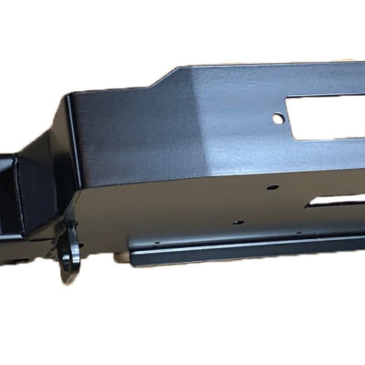 DEFENDER A/C WINCH BUMPER (SOFT A-BAR) ENDCAP HOLES