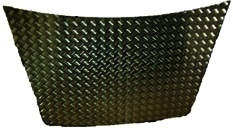 DISCOVERY 1 BONNET PROTECTOR BLACK